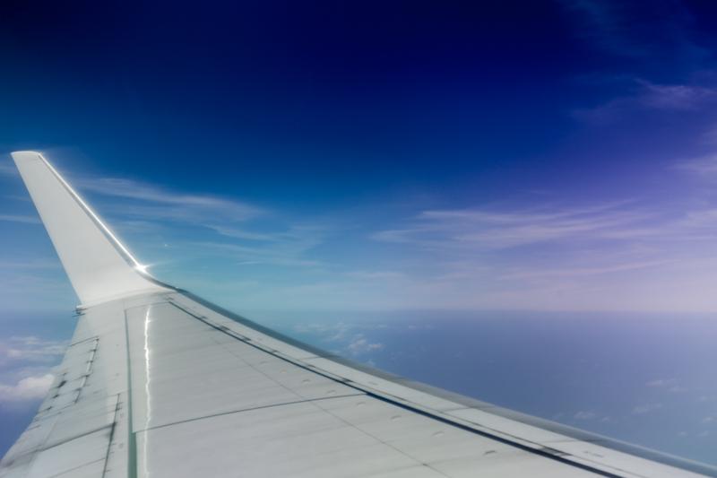 Dans l'avion, de Chennai à Port-Blair © 2016 Jessica VALOISE