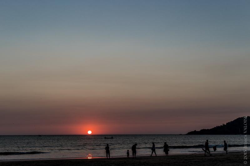 Coucher de soleil à Goa © 2015 Jessica VALOISE